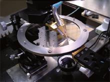 ガラス基板<br>TSVのRF測定例~20GHz<br>4インチウエハ