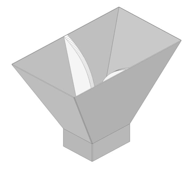 図9. ホーンアンテナ解析モデル